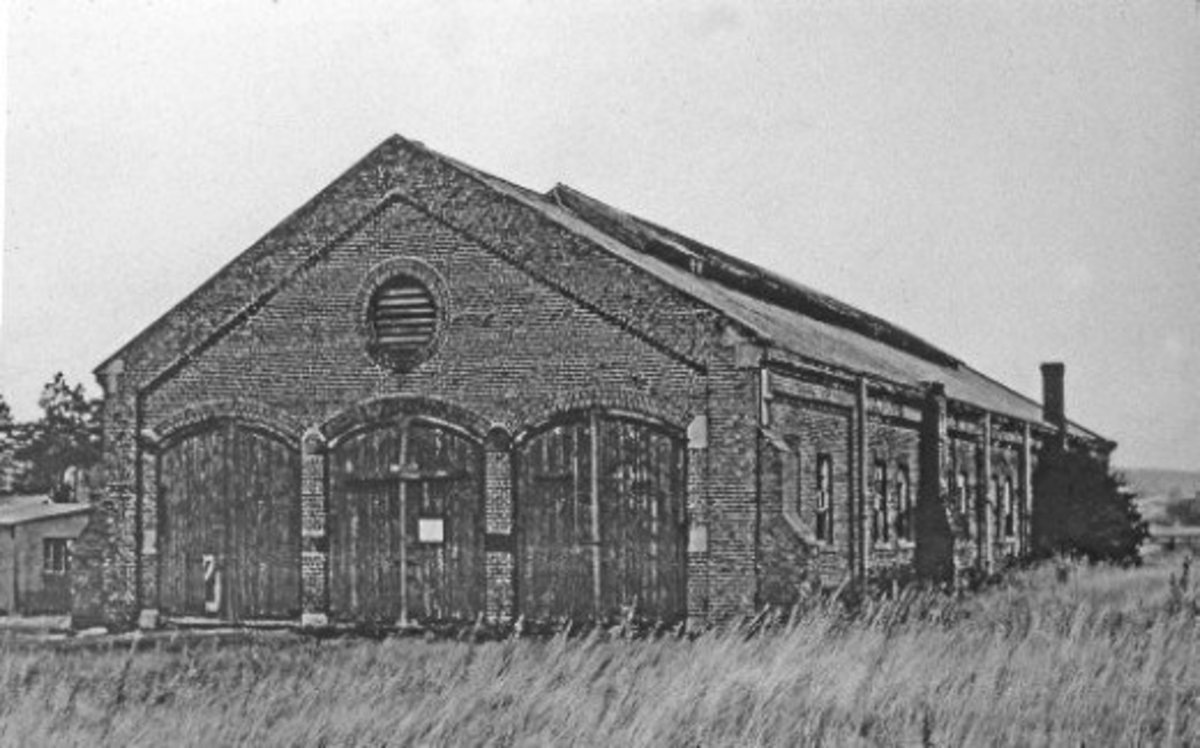 Battersby's three road engine shed was built for engines involved in the ironstone traffic, although in WWII housed the three twelve wheel dining cars of NER vintage