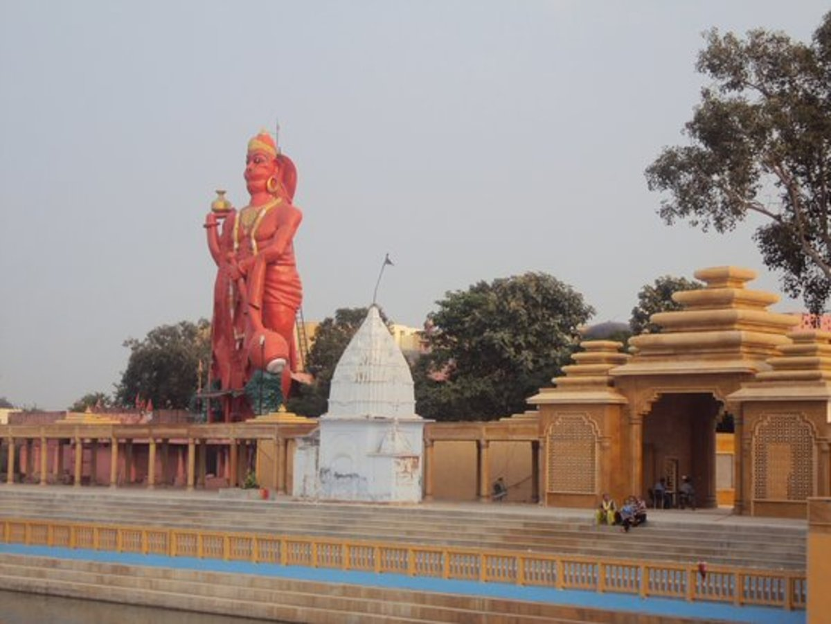 Ram Tirath Temple of Lord Hanuman