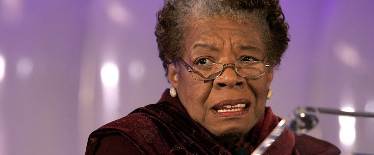 Maya Angelou:  From Prostitute to Poetaster to Professor