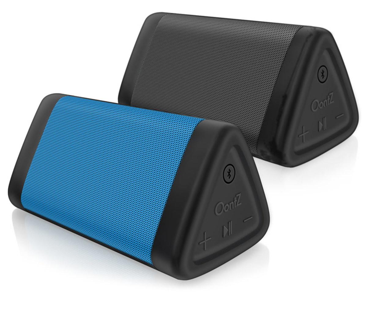 The Oontz Angle 3 speaker is dustproof, sandproof, and rainproof.