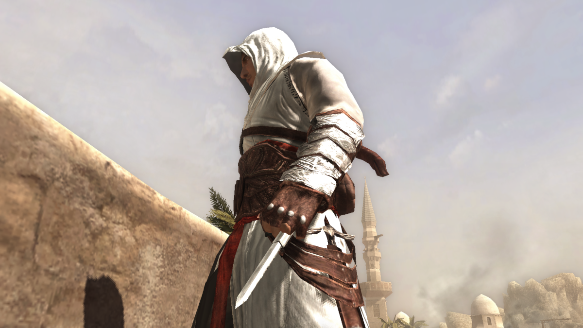 Altair and his Hidden Blade