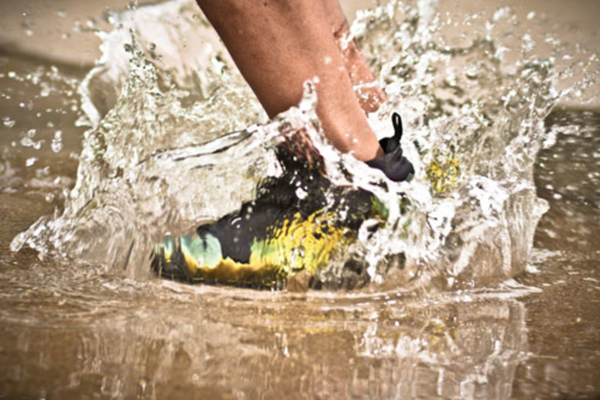 When did we begin to think we were too old to splash around in puddles?