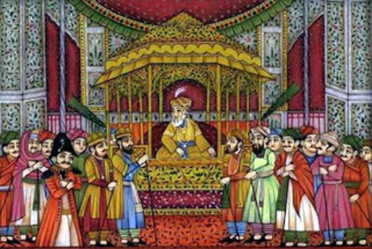 Emperor Akbar's Court