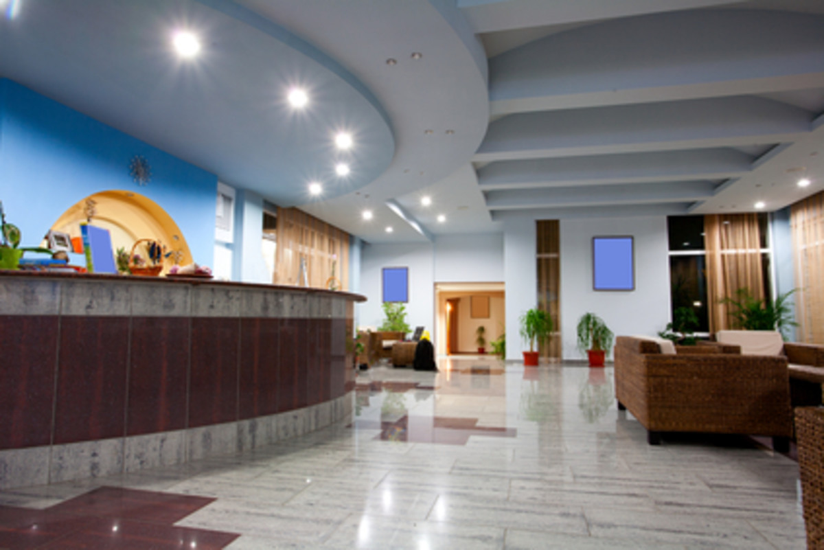 A Clean and Well-maintained reception Creates A Lasting Impression on Visitors