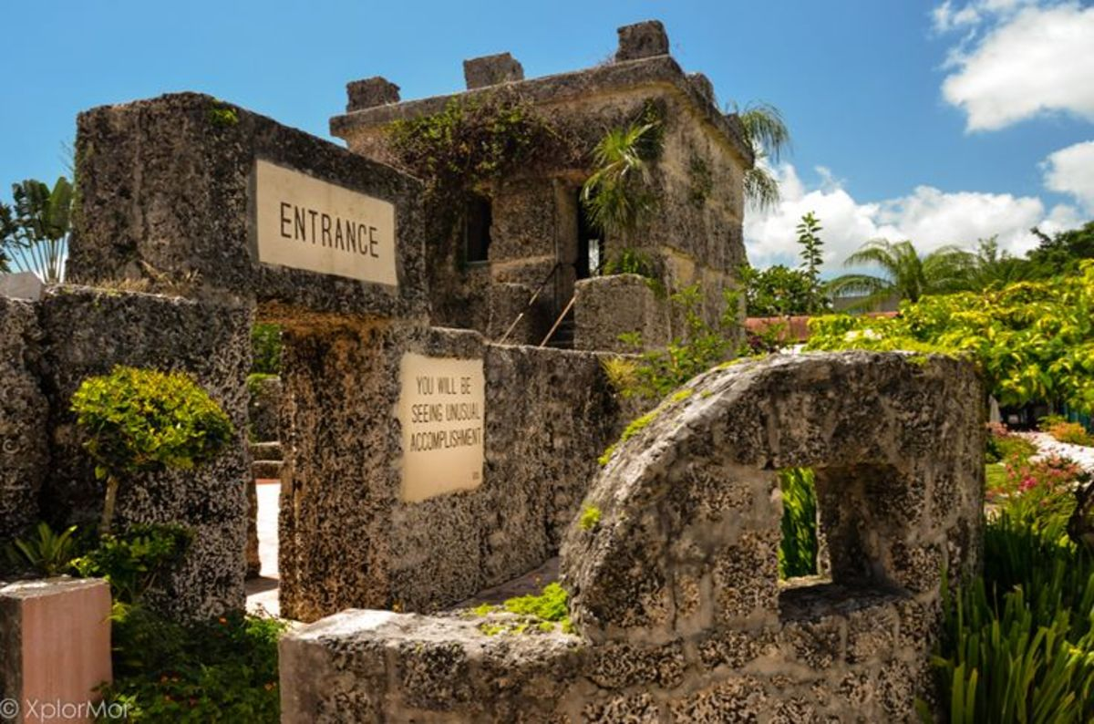 Entrance to Coral Castle