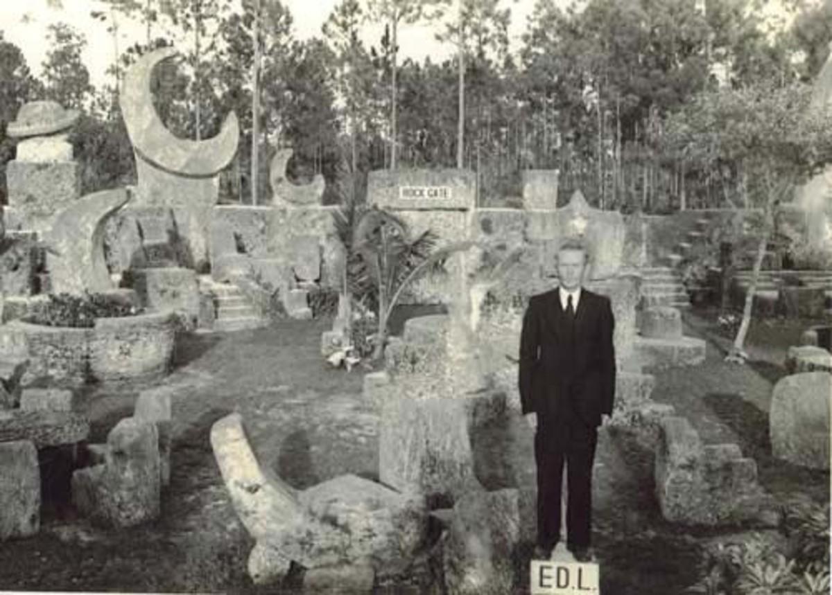 Edward Leedskalnin at Coral Castle