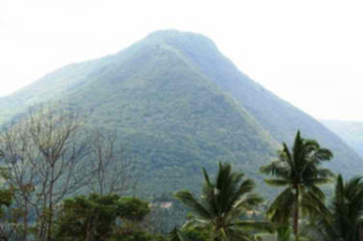Mt. Lantoy, home of the legendary Maria Cacao