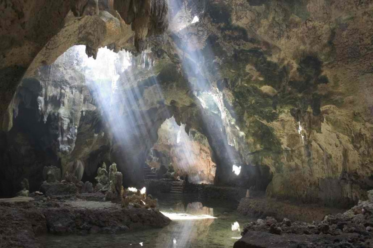 the enchanting Agta cave