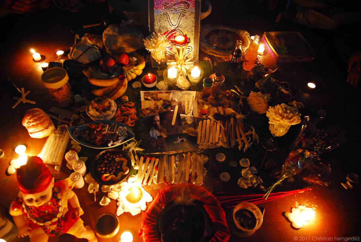 modern babaylan offerings