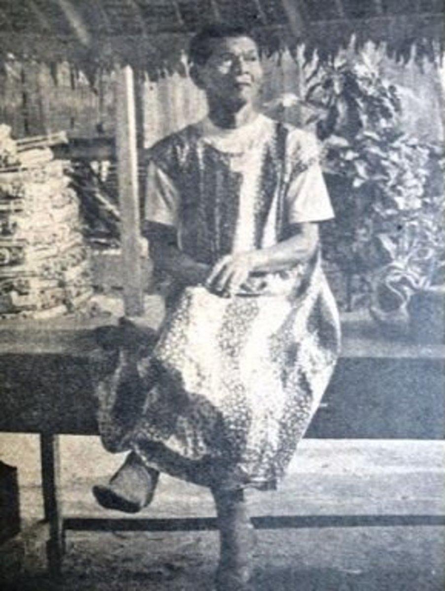 skirt-wearing babaylan Ponciano Elofre, pioneering LGBT activist