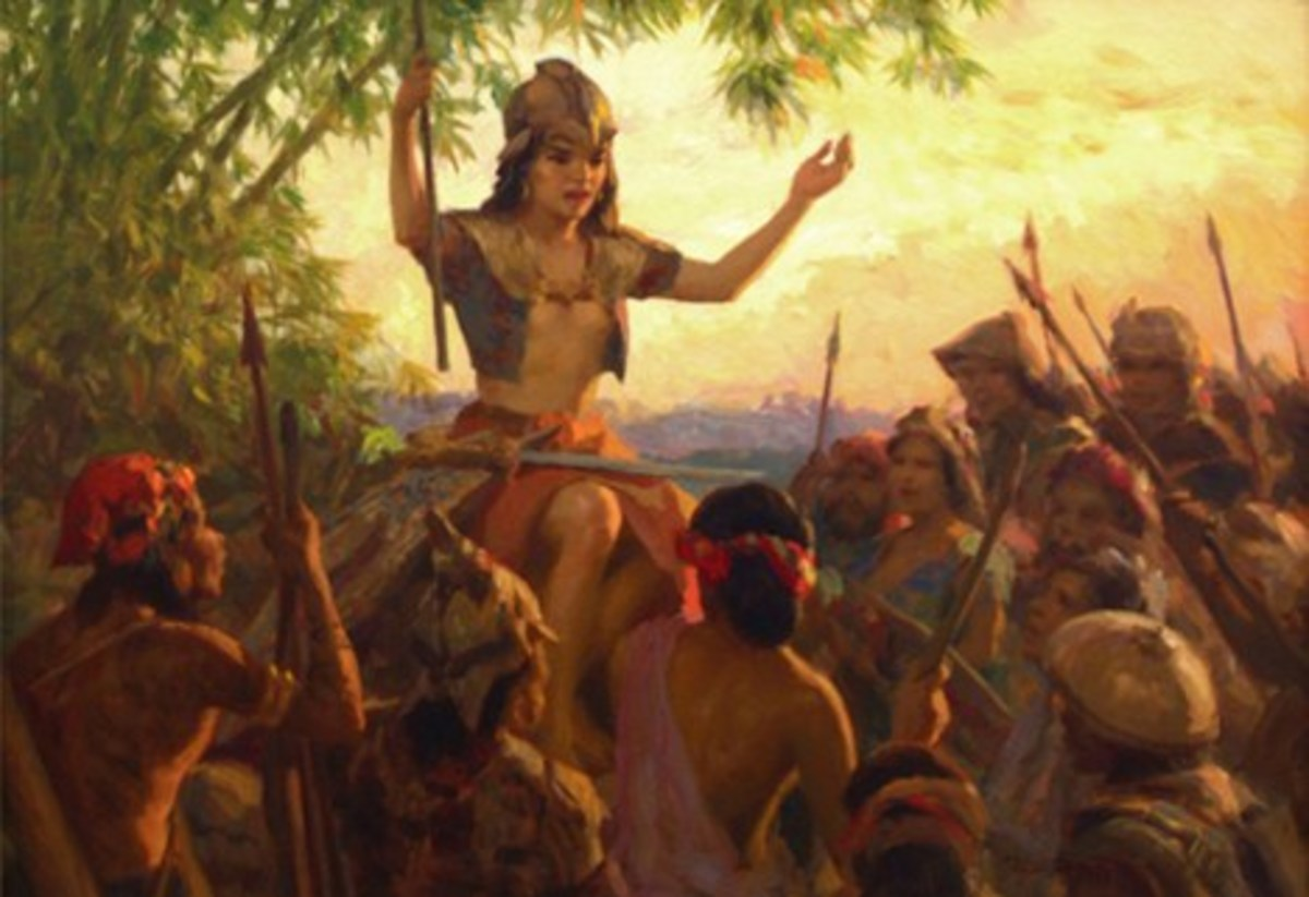 the role of the Babaylan bordered on the political as well.