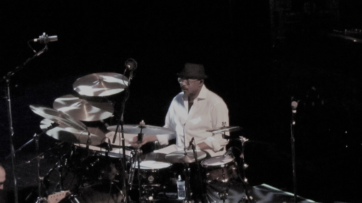 """Harvey Mason, serves as drummer of the Grammy Nominated super group, """"Fourplay."""""""