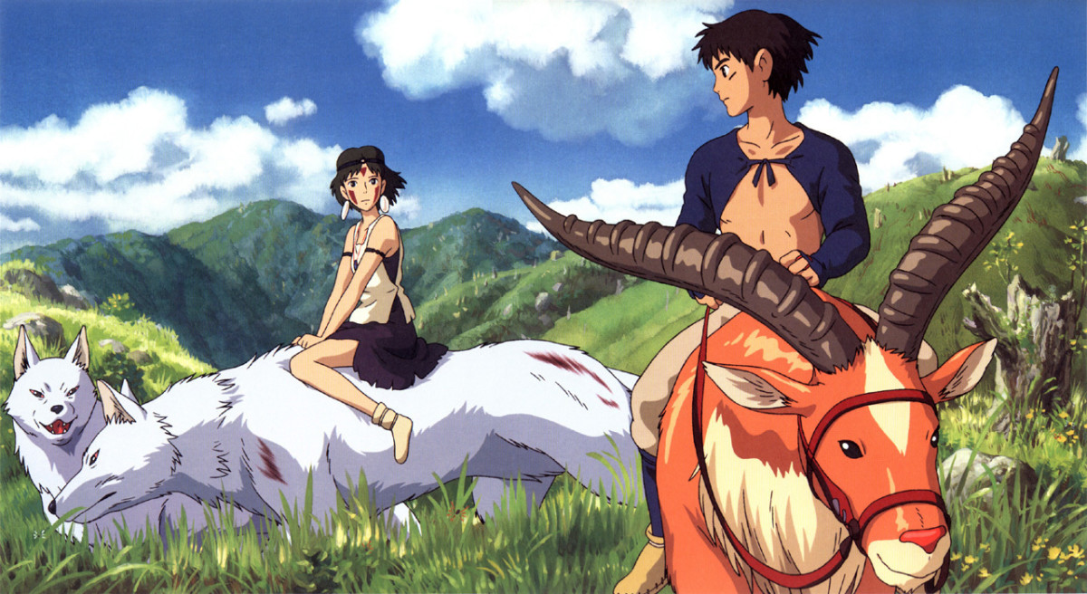 Anime Film Review: Princess Mononoke