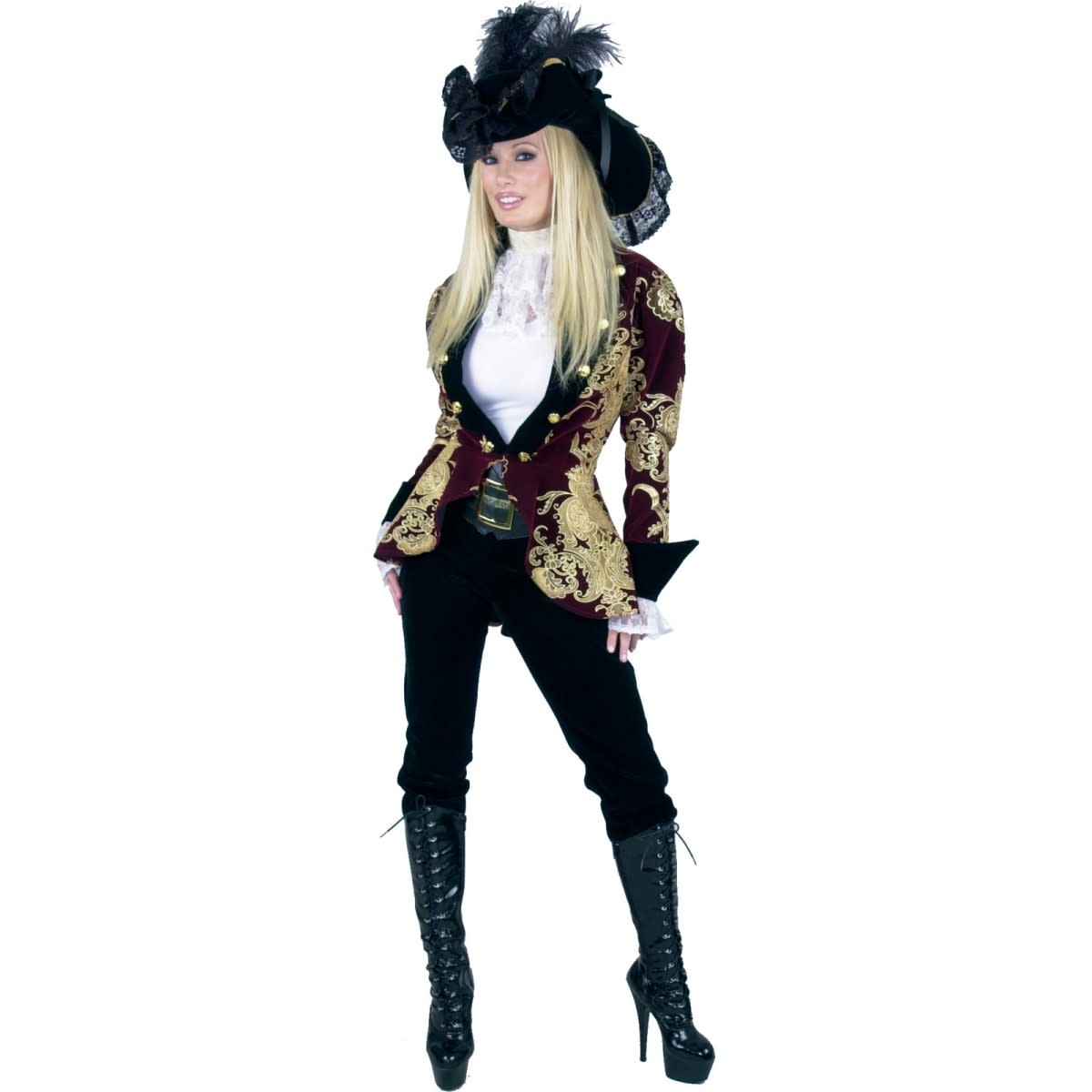 I found this costume look at theatrical dress