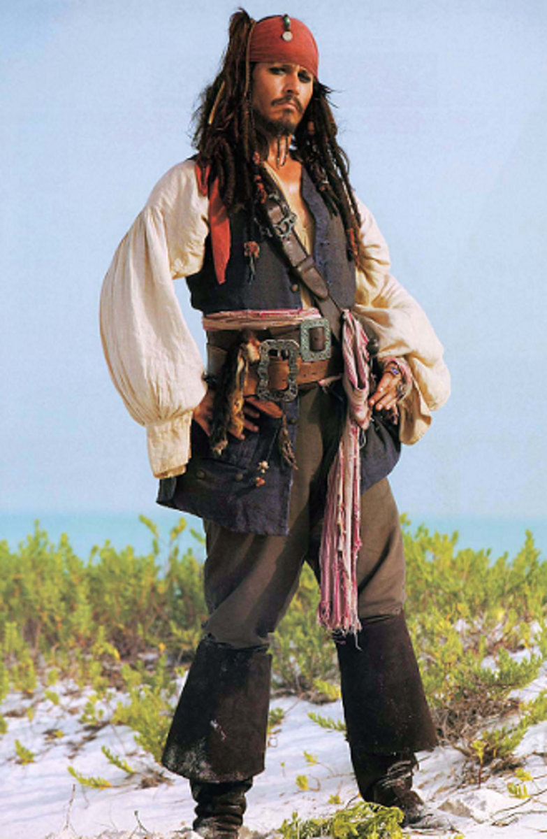 Source  sc 1 st  HubPages & Make Your Own Pirate Costume - DIY Halloween Costume Ideas ...