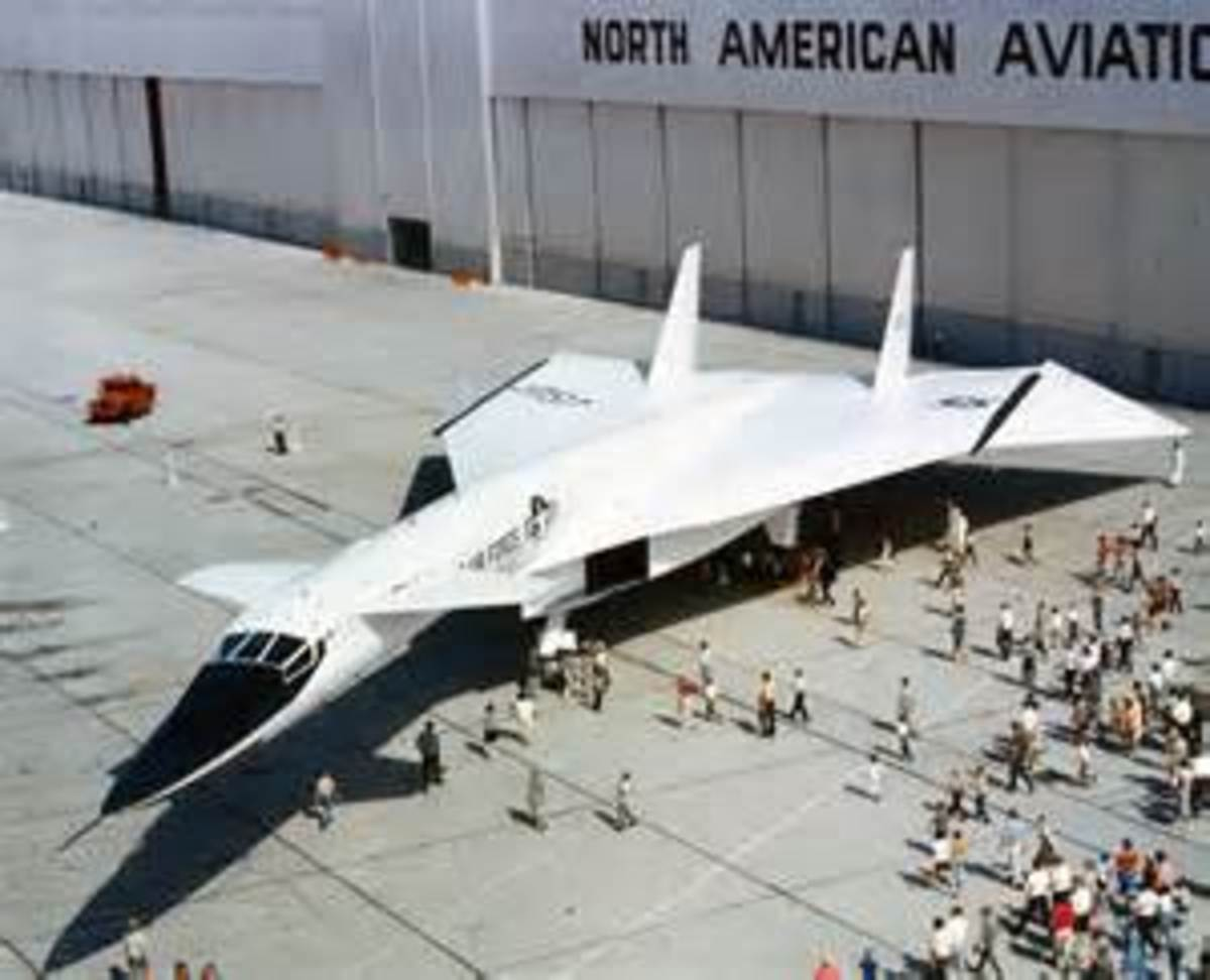 The XB-70, made by Lockheed was a high altitude prototype developed by SAC in the late 50s.