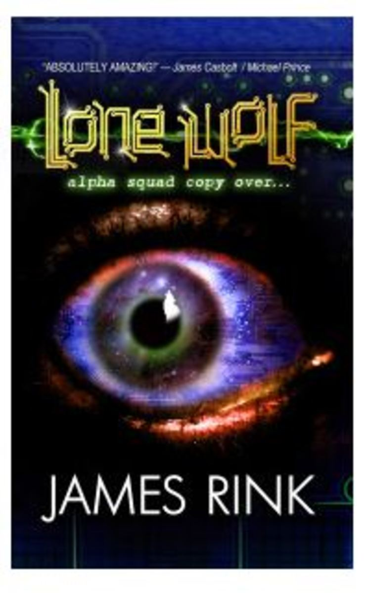 James Rink has written a book of his experiences called Lone Wolf Alpha Squad 45 Copy Over.