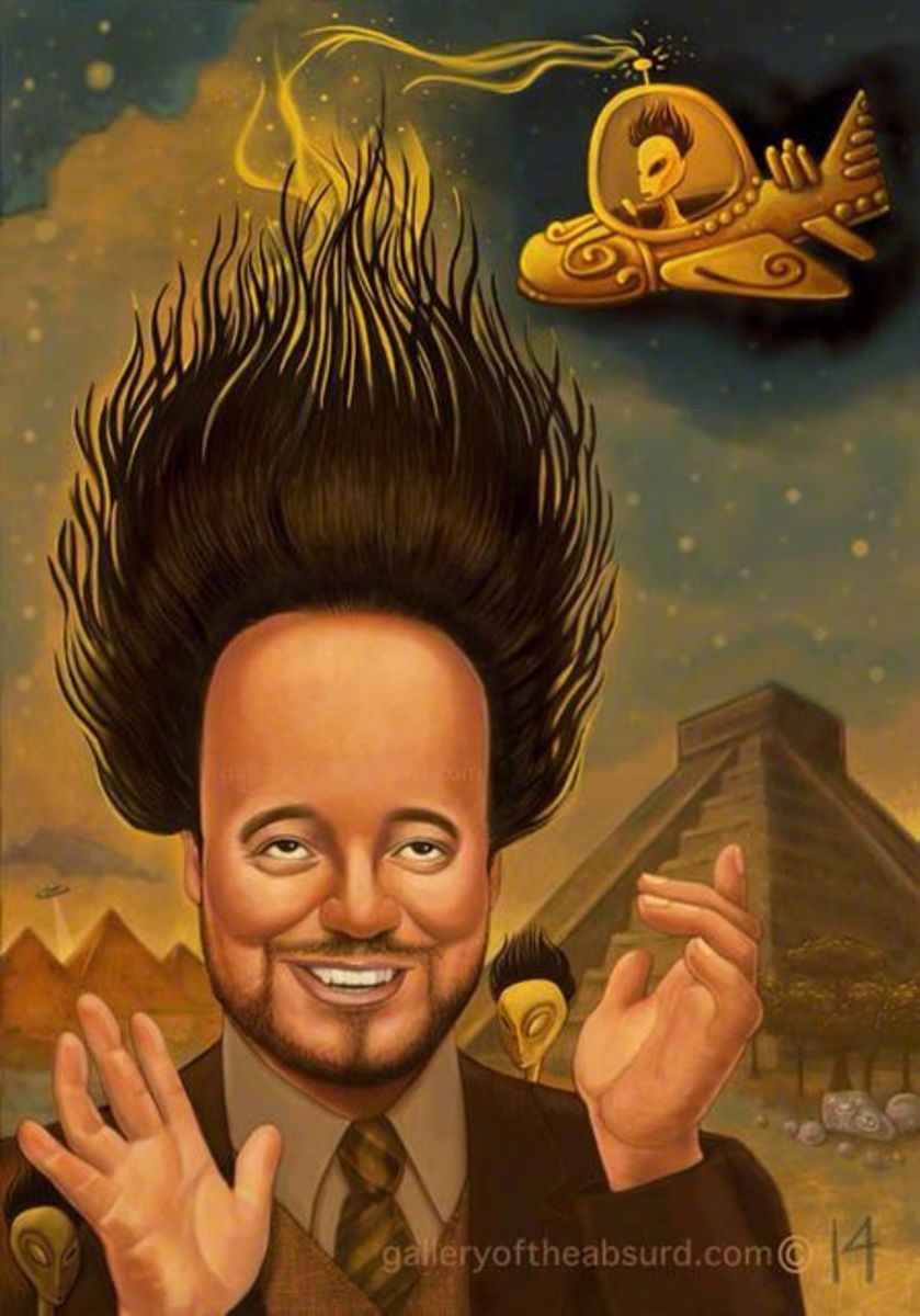Why I Hate History Channel's Ancient Aliens