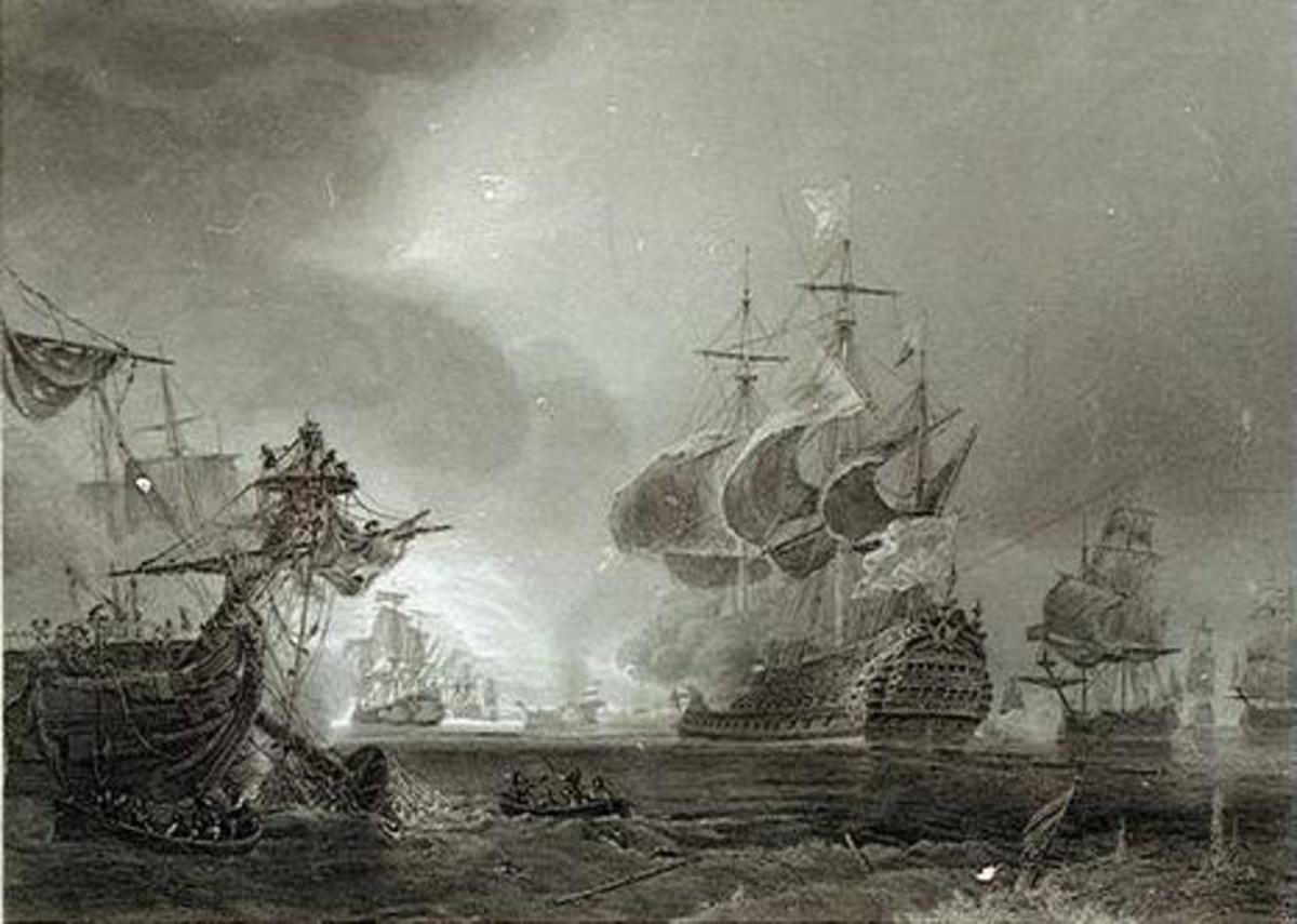 The Battle of Beachy Head showed the French Navy at its finest, defeating the combined might of the Dutch and British fleets. A century later, odds would be longer.