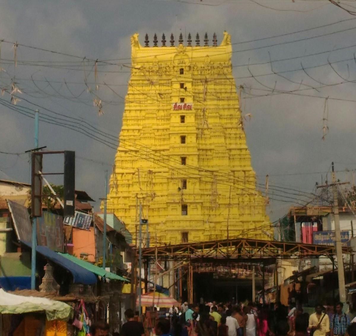 East Gopuram, Ramanathaswamy Temple, #Rameswaram