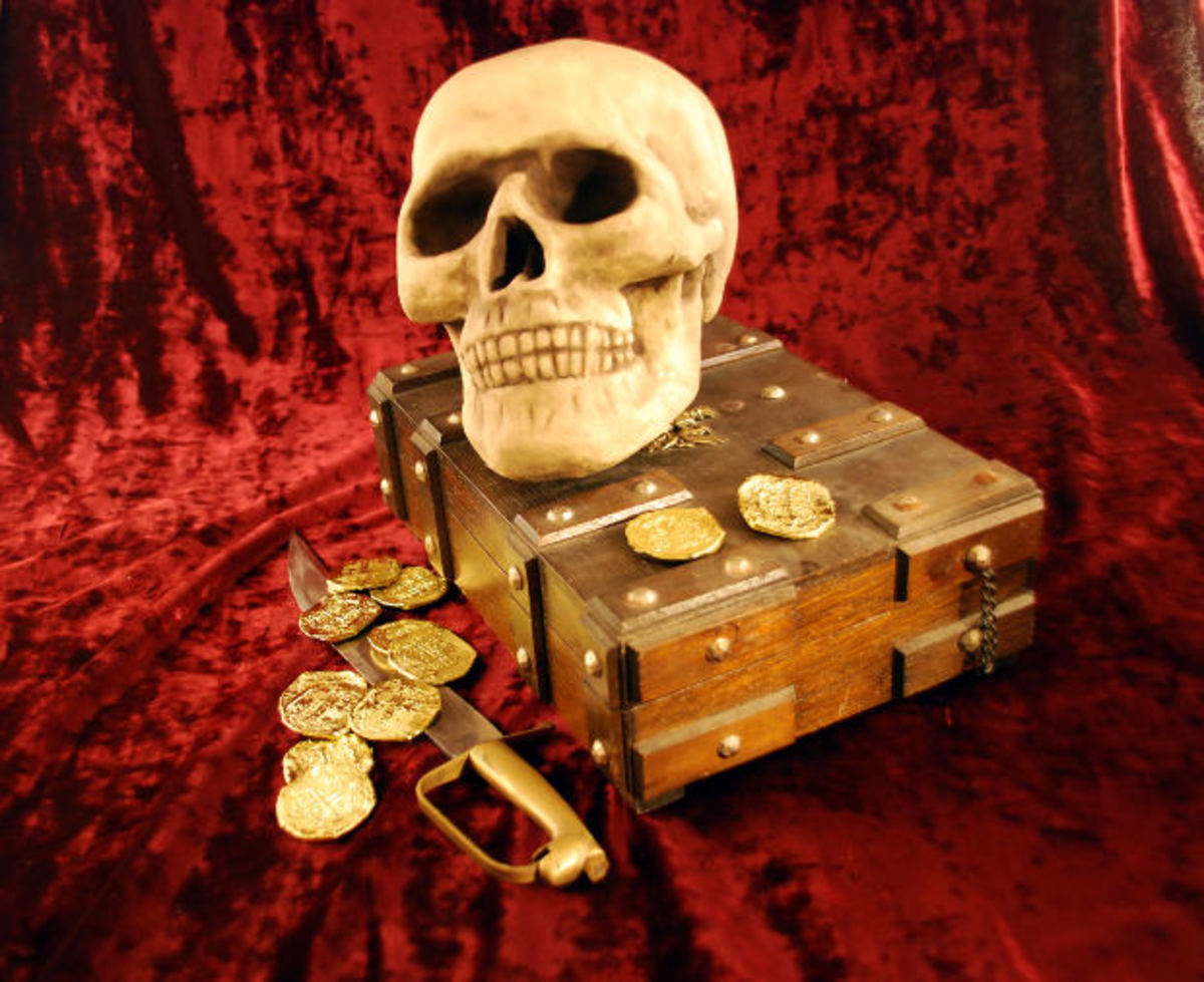 Skulls, pass. Treasure chests? Depends on what's in them I guess!