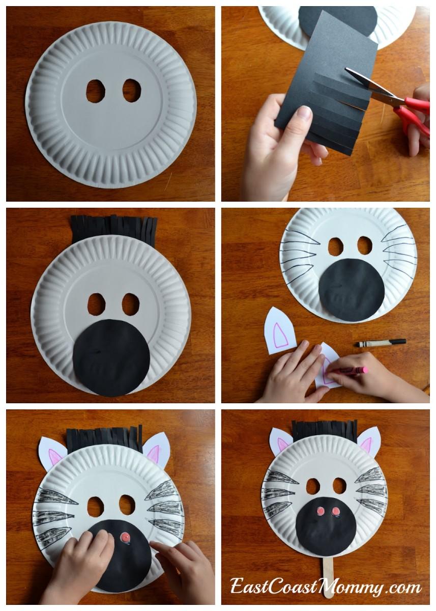 how-to-make-a-paper-plate-zebra