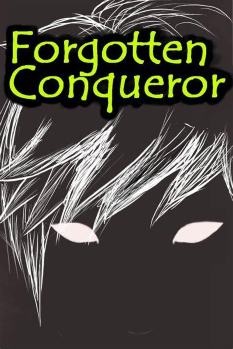 """Official """"Forgotten Conqueror"""" Novel Cover"""