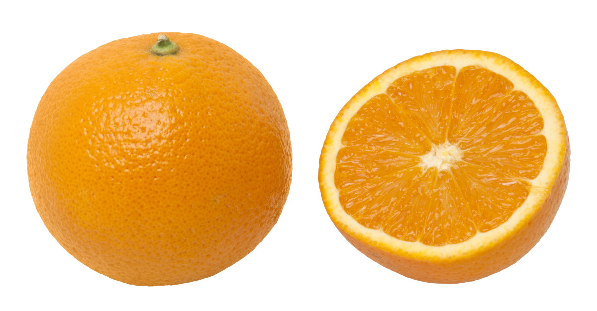 Orange peels are best for fair skin
