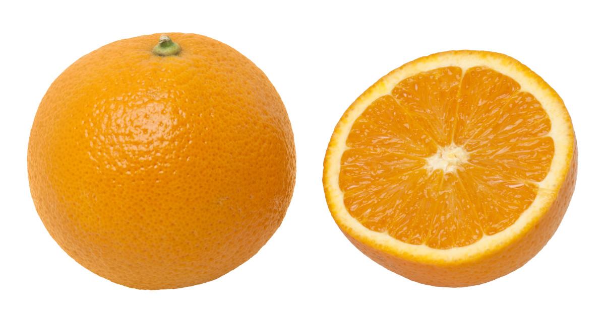 Orange peels are best for fair skin