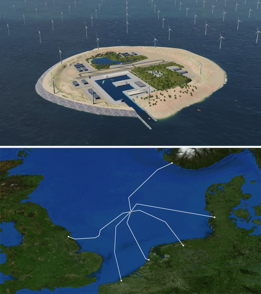 Future plans for massive wind farm project