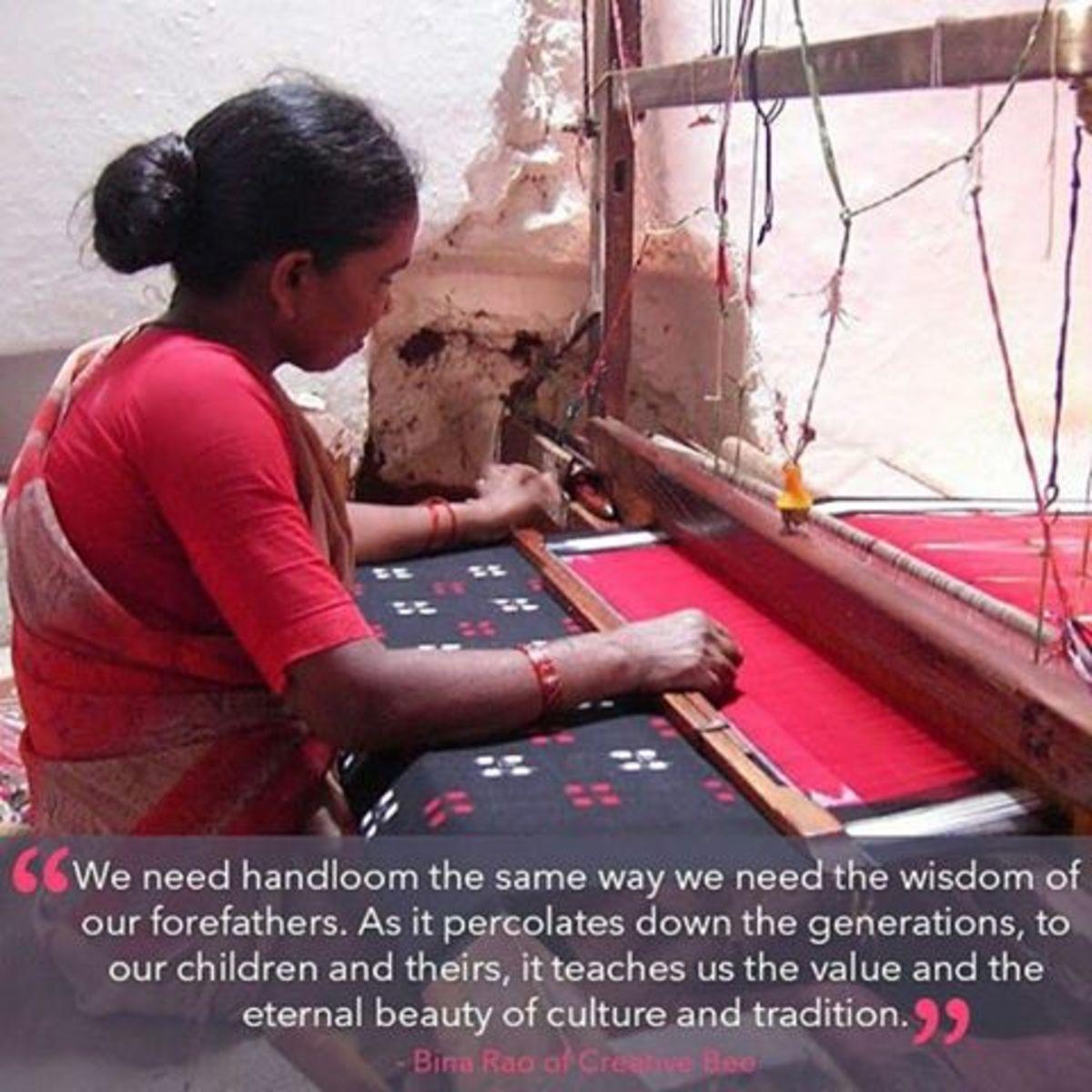 Handloom: The Traditional Indian Weaving Technique