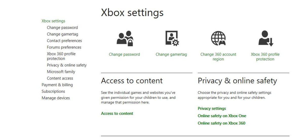 "Click ""Xbox Settings"" in the drop-down menu."