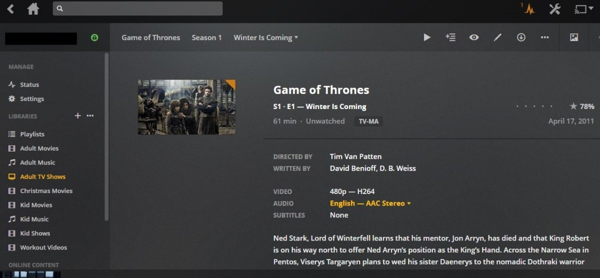 Click each episode for additional information associated with that specific episode.
