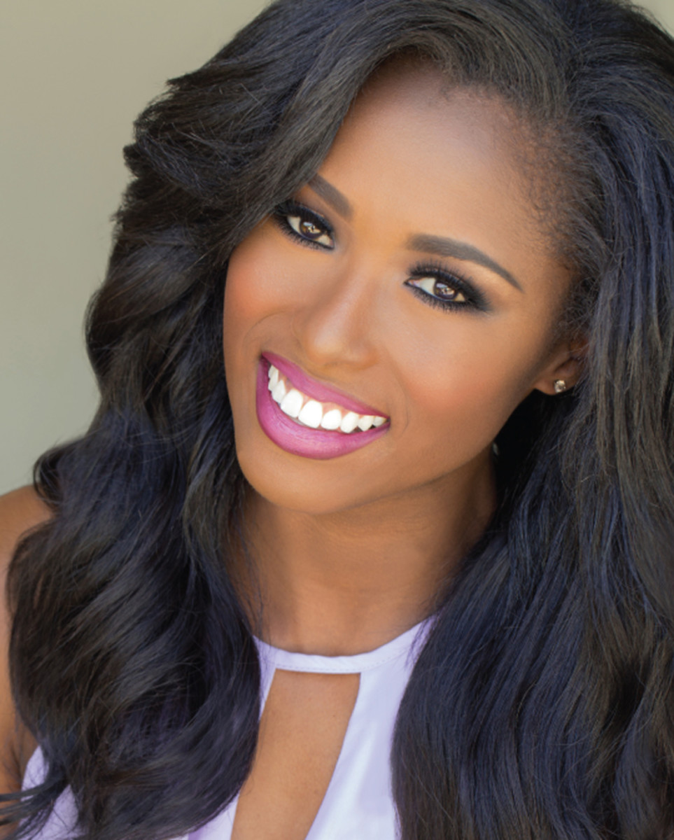 Daja Dial of Spartanburg, South Carolina is the third African American to be crowned Miss South Carolina.  At the time of this writing, she was a student at Clemson University majoring in health administration.