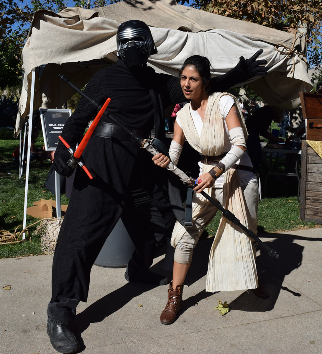 Go ahead, dress up as Kylo Ren and Rey for Halloween