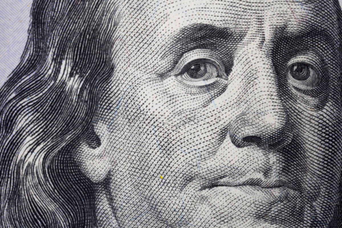 Founding Father Benjamin Franklin also suffered from gout.