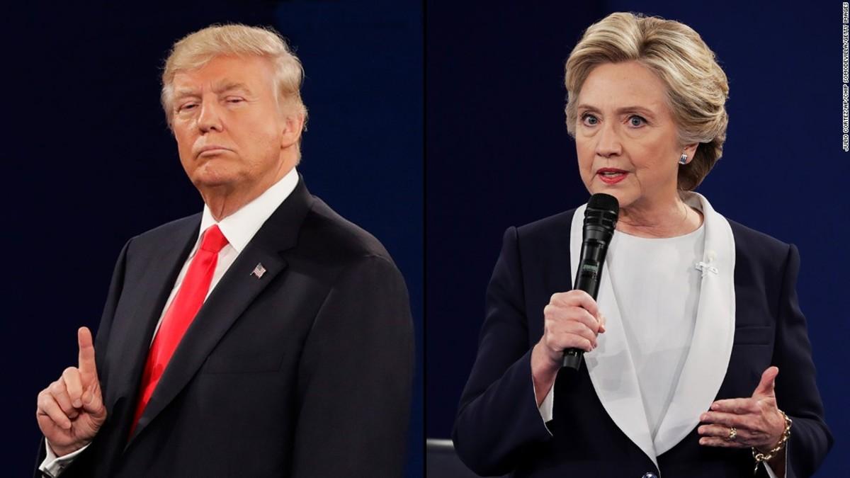 Trump/Clinton Presidential Debate 2016