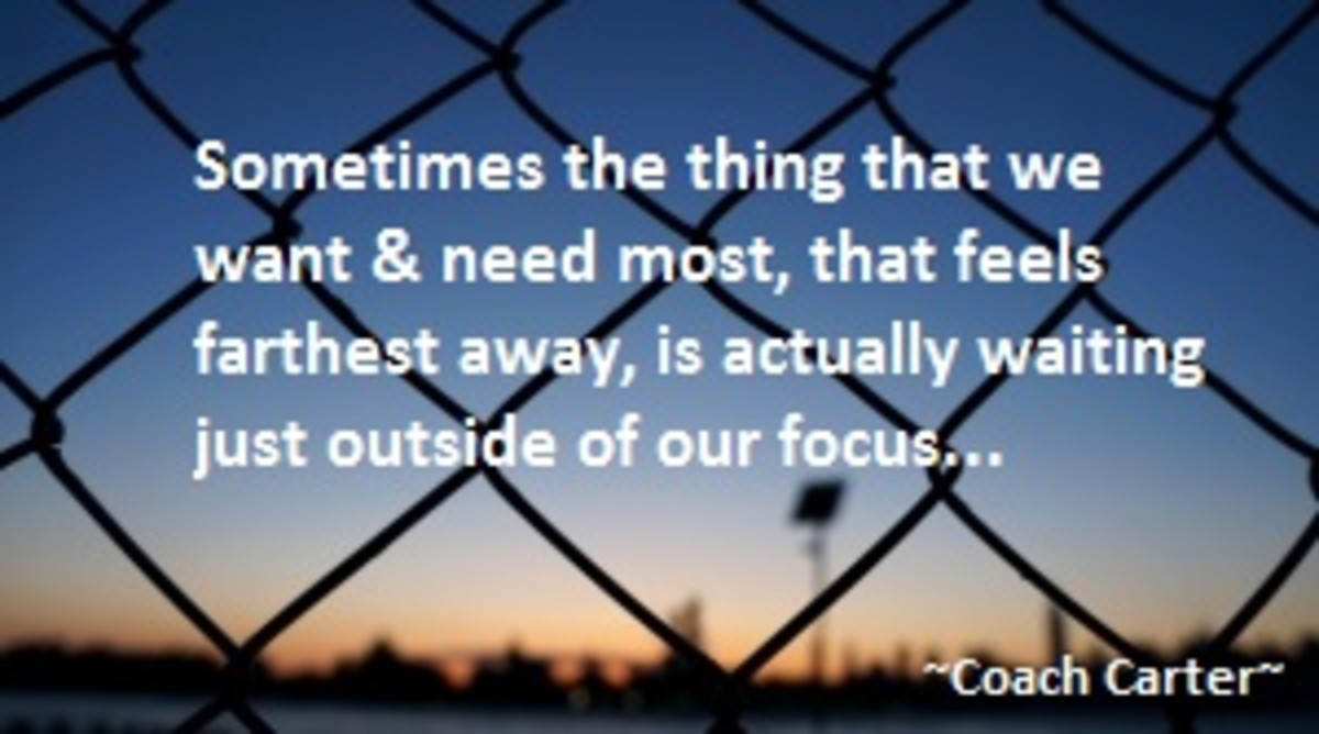 Sometimes it's only our perspective that keeps the things we desire most from manifesting right into our laps.