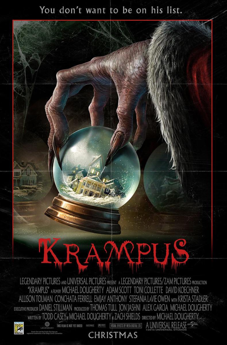 #Krampus #HorrorComedy #ToniCollette #AdamScott