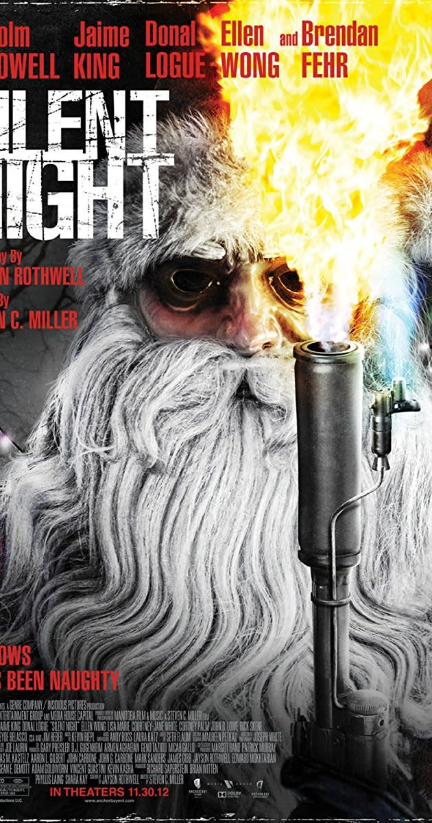 #SilentNight #Horror #Slasher #ChristmasHorror