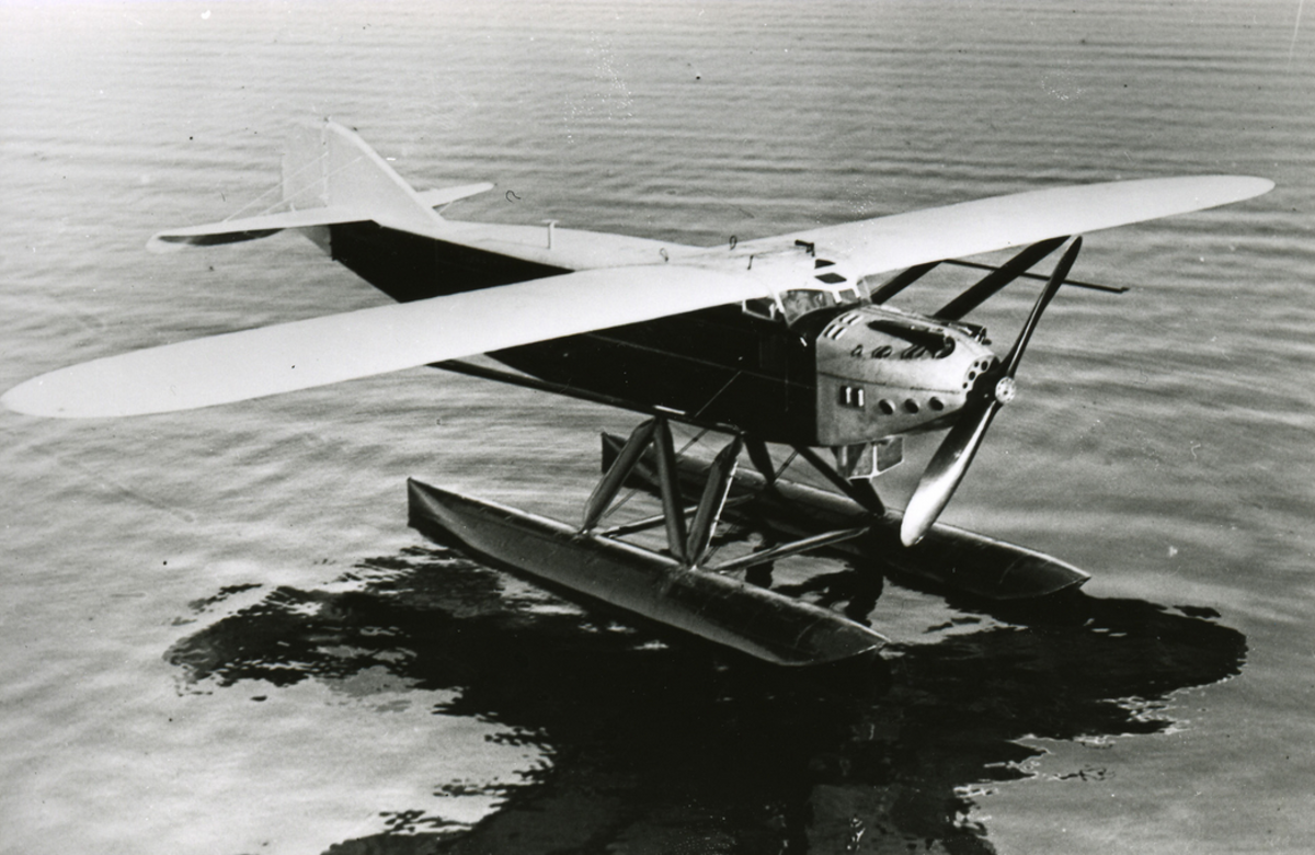 The Latécoère 28, a long-range French transport aircraft.