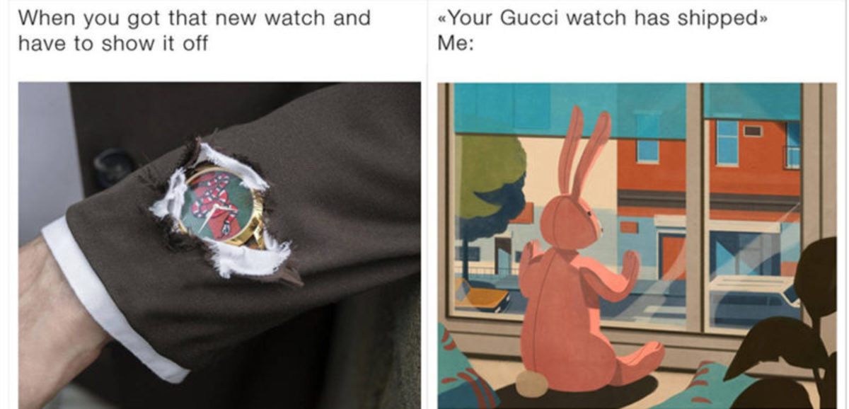 Gucci's meme campaign highlights high fashion's increasing involvement in the fashion community
