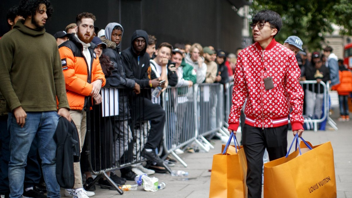 The LV X Supreme collab turned a few heads, but not nearly as many as the Carlyle Group's $1bln evaluation of the streetwear brand