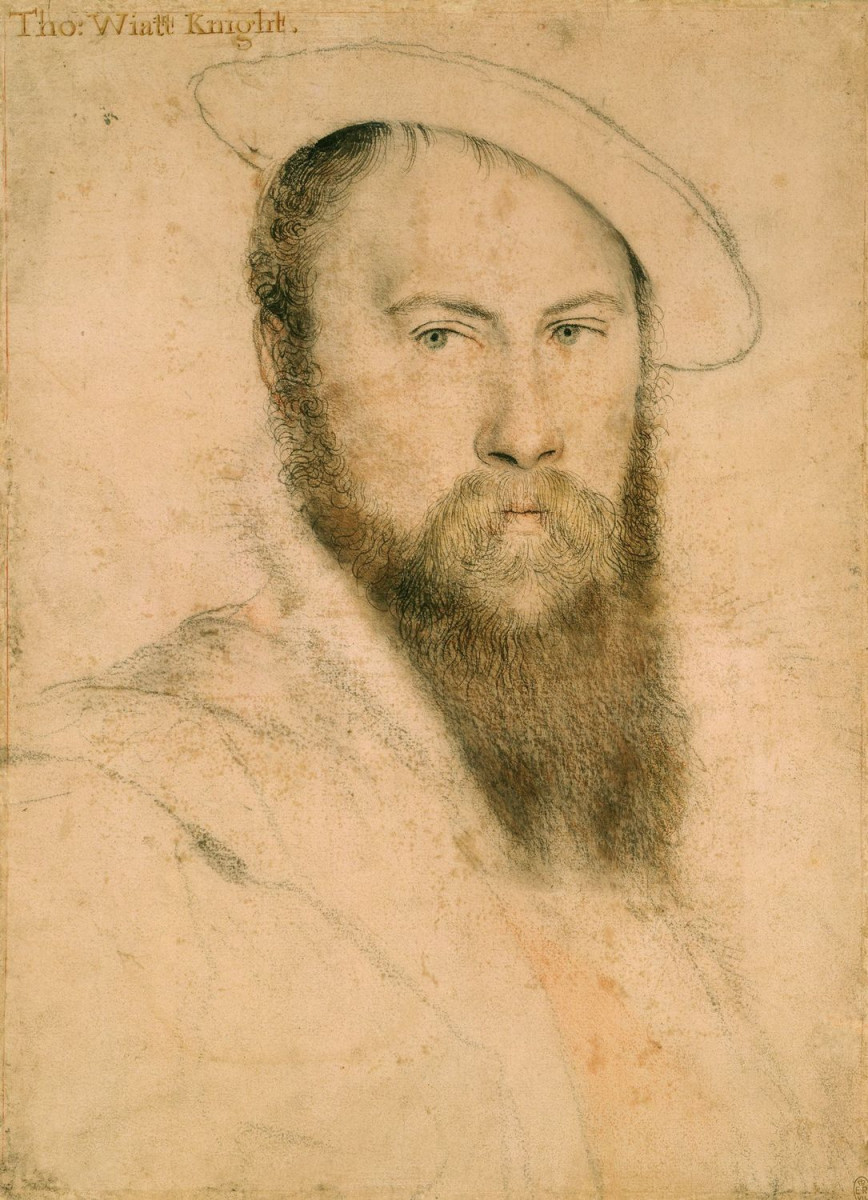 Sir Thomas Wyatt (1503-- 1542)   (16th-century English politician, ambassador, and lyric poet credited with introducing the sonnet to English literature.)