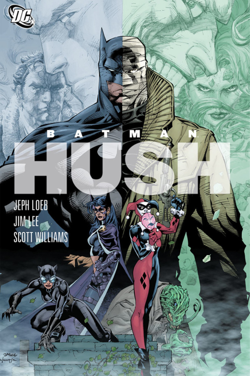 Graphic Novel Review: Batman: Hush by Jeph Loeb