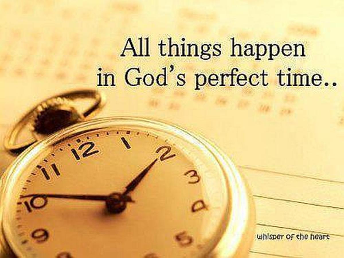 God's Perfect Time