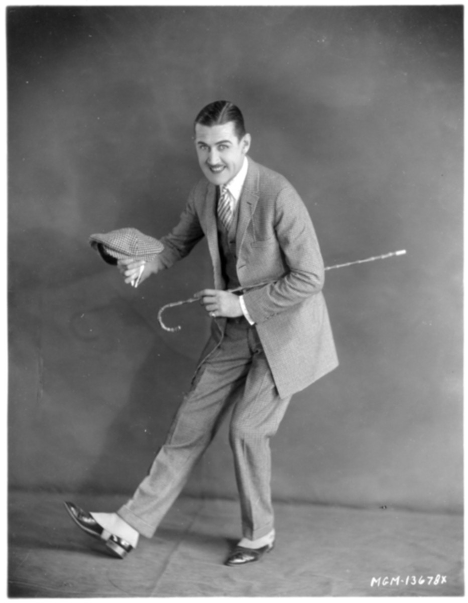 "Comic actor Charley (""Charlie"") Chase, whose films fell out of favor in the era of Chaplin, Keaton, and Harold Lloyd."