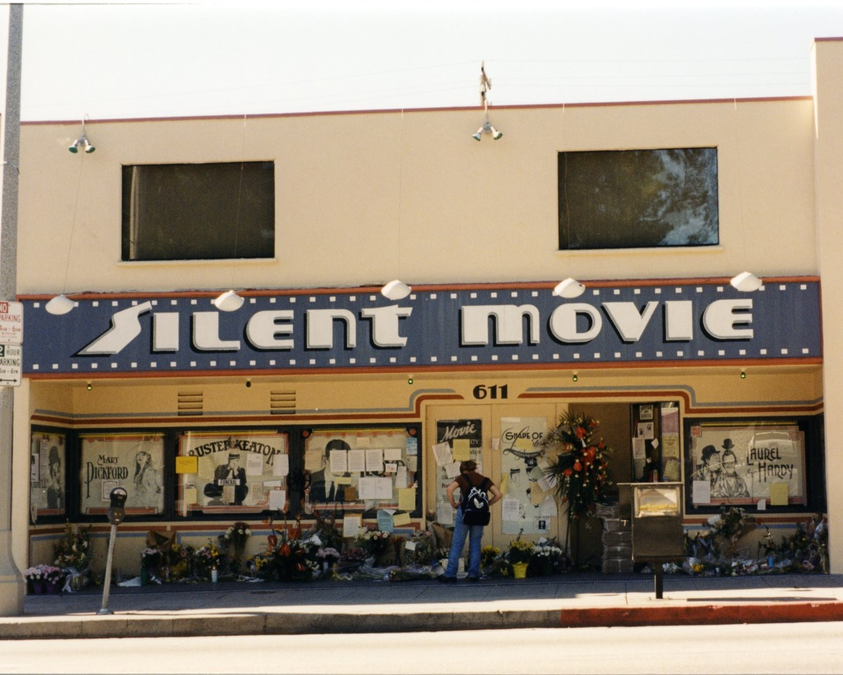 The Silent Movie, shuttered following the death of Laurence Austin.