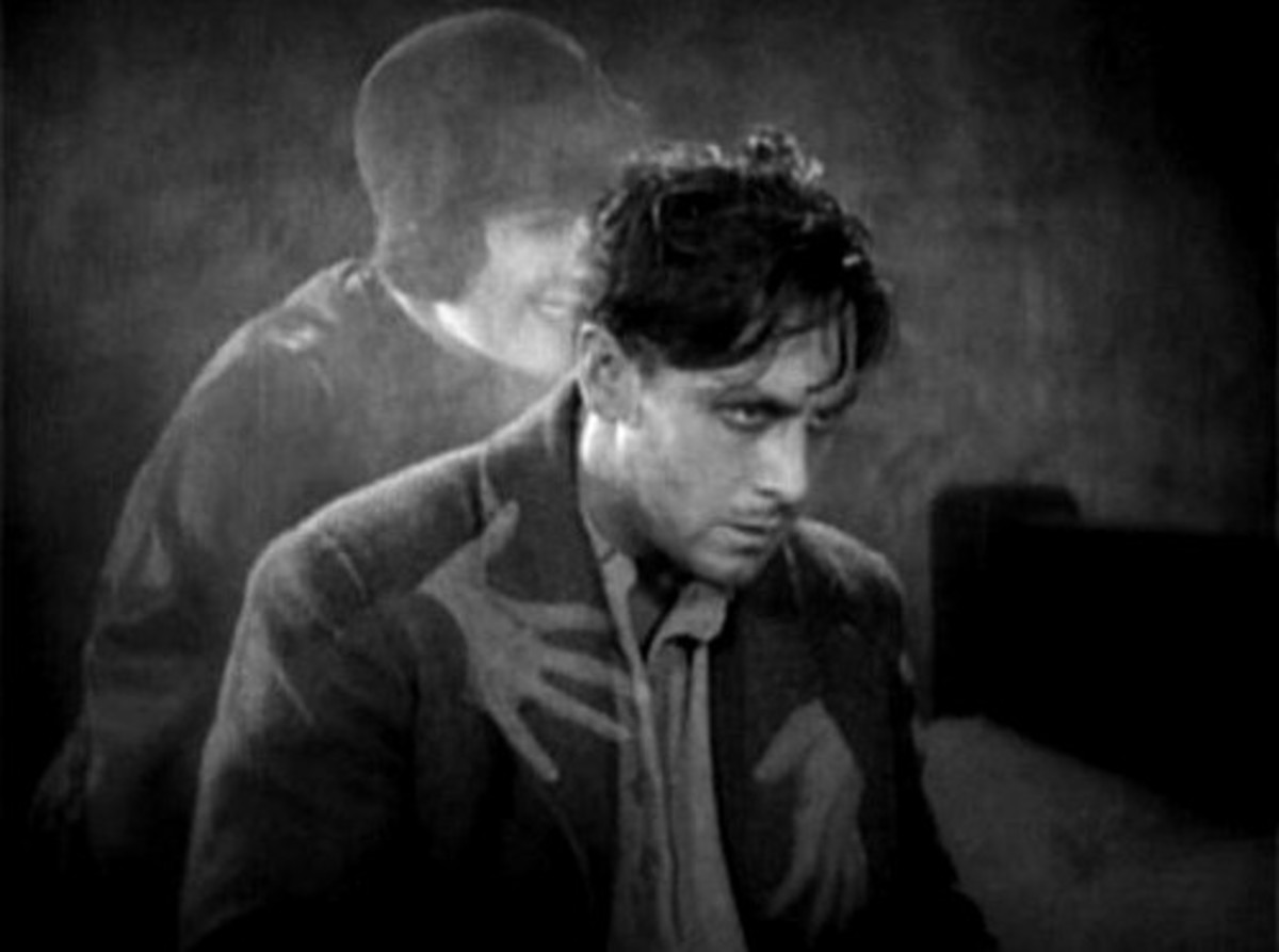 "Janet Gaynor and George O'Brien in F.W. Murnau's ""Sunrise: A Song of Two Humans"""