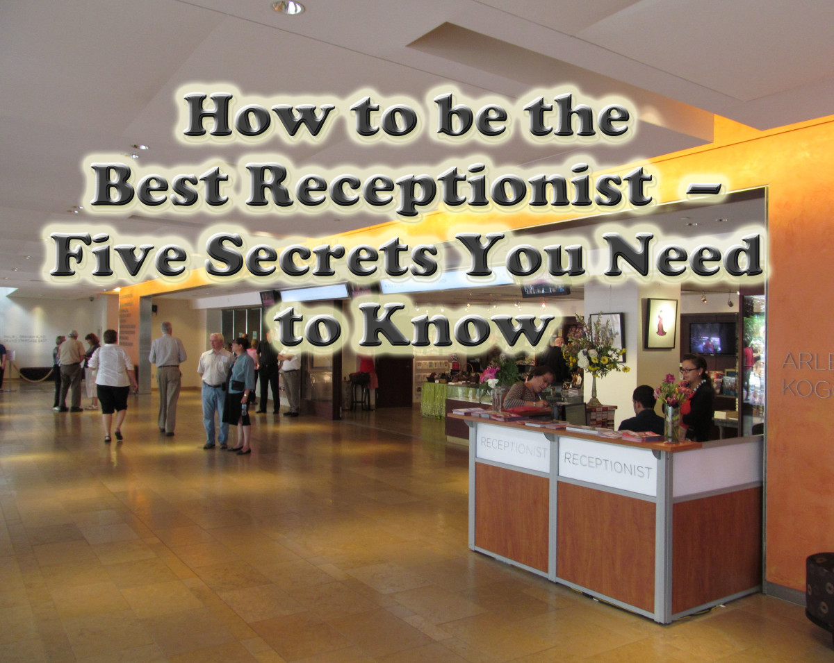 A Guide to the Skills Needed to be a Good Receptionist  – Five Useful Tips